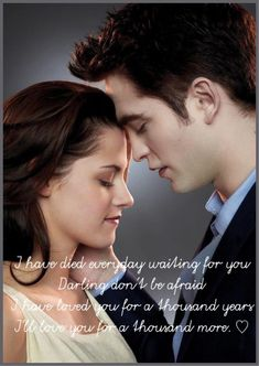 This is the kind of love I want! Twilight Saga Quotes, Twilight Saga Series, Twilight Series, Twilight Movie, Twilight Bella And Edward, Edward Bella, Edward Cullen, Robert Pattinson Twilight, Robert Pattinson And Kristen