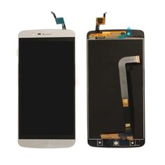 LCD Display per Elephone P8000 + Vetro Touch Screen Bianco Oro + kit montaggio