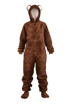 #onesie #dressup #brown #bear