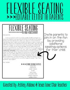 Are you interested in starting flexible seating or have you started and feel that you still need more options Invite parents to join in on the fun This flexible seating l. Classroom Design, School Classroom, Classroom Organization, Classroom Management, Classroom Ideas, Class Management, Behavior Management, Future Classroom, 21st Century Classroom