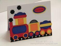 Punch art train