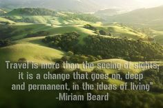 #Travel is more than seeing sights......
