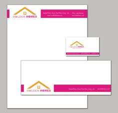 Company Branding Stationary set with a letterhead by DesignRescue, $30.00