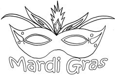 beautiful mardi gras mask printable coloring pages coloring pages