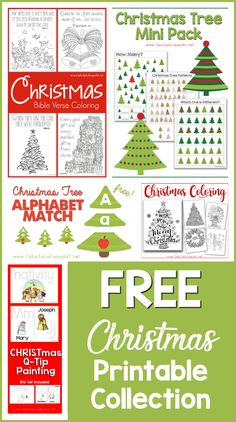 Christmas Printables and Ideas This Christmas Printable Collection is filled with free printables and learning activities for your kids to use during December as you enjoy the Christmas holiday with your kids. You'll find printables for tot school, presch Christmas Maze, Colorful Christmas Tree, Christmas Cards To Make, Christmas Books, Christmas Themes, Christmas Holidays, Christmas Crafts, Xmas, Preschool Christmas Activities