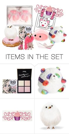 """""""Pink and White"""" by pampire ❤ liked on Polyvore featuring art"""