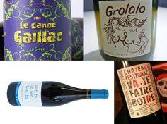 Des étiquettes culottées #wine #winelabel #originalité