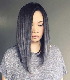 Asymmetric Long Bob Long Bob Haircuts