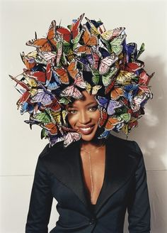 David LaChapelle, Naomi Campbell, Tatler, Paris, 2005