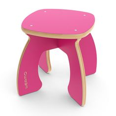 Weamo is a UK-based children's furniture company whose products are made with FSC-certified wood and colorfully painted.