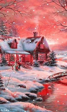 Cell phone Wallpaper / Background for all cells from Zedge app or website. Christmas Scenes, Noel Christmas, Pink Christmas, Vintage Christmas Cards, Christmas Pictures, Beautiful Christmas, Winter Christmas, Christmas Lights, Christmas Greetings