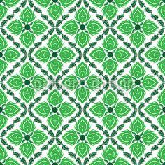 Captivating Green designed by Yasir Ahmed Khan, vector download available on patterndesigns.com Plant Vector, Green Flowers, Vector Pattern, Surface Design, Patterns, Artwork, Block Prints, Work Of Art, Auguste Rodin Artwork