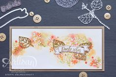 Stampin Up Thoughful Branches bundle. Available August 2016 Handmade Greetings, Greeting Cards Handmade, Card Making Techniques, Fall Cards, Card Tags, Stamping Up, Flower Cards, Stampin Up Cards, Fun Projects
