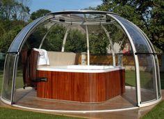 whirlpool mit abdeckung hydrops | whirlpool | pinterest | jacuzzi, Gartengestaltung