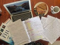 loveyourstudy:  Here's a photo from earlier on today. The workload really did a number on me, I'm so worn out.