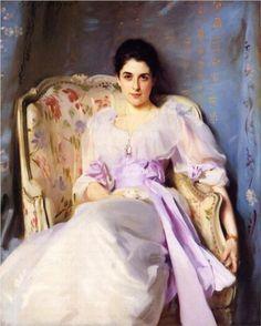 Lady Agnew of Lochnaw  - John Singer Sargent I  Zijn werk zweemt tussen realisme en impressionisme