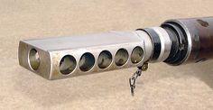 Note the harmonica muzzle break of a similar design to the Boys rifle muzzle break, it even has 5 holes per side. Rifles, Anti Tank Rifle, Ar Rifle, Arm Armor, Guns And Ammo, Shotgun, Firearms, Finland, Accessories