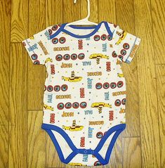 adb9edac9 Beatles Yellow Submarine Baby Outfit One Piece Romper Fab Four 18 months