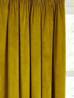 Types Of Curtains, Hanging Curtains, Panel Curtains, Pleated Curtains, Pink Velvet Curtains, Natural Curtains, Curtain Drops, Anthropologie Home, Texture