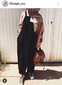 54 Trendy Ideas For Hijab Fashion Logo Hijab Fashion Summer, Modern Hijab Fashion, Street Hijab Fashion, Muslim Fashion, Korean Fashion, Fashion Outfits, Hijab Elegante, Hijab Chic, Hijab Mode Inspiration