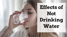 What Happens to Your Body When You Stop Drinking Water  ||  Effects of N... Not Drinking Enough Water, Drinking Water, Effects Of Drinking, Water Effect, Stop Drinking, Nutritional Value, What Happened To You, Cool Websites, Health Benefits