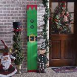 Santa's Elf Wood Plank Plaque | Kirklands