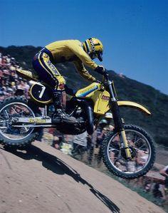 Mark Barnett Mx Bikes, Cool Bikes, Vintage Motocross, Vintage Racing, Vintage Bikes, Vintage Motorcycles, 2 Stroke Dirt Bike, Bike Freestyle, Mx Racing