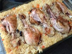 """""""Lazy rice"""" with chicken! I love these dishes: the minimum training, then everything in the oven, and - to cook a delicious and hearty dinner! Ukrainian Recipes, Russian Recipes, Diet Recipes, Chicken Recipes, Cooking Recipes, Clean Eating Diet Plan, Easy Cooking, Food Photo, Love Food"""