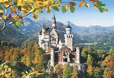 Image result for Neuschwanstein Castle in Autumn