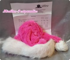 Weihnachtsmütze von Ciffre - Weihnachten wird pink   Mirellas Testparadies