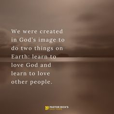 We Love Because God Loves Us