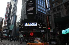 FONA in Times Square again! ~ celebrating being named Best of the Best..AGAIN!