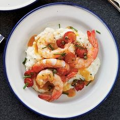Gulf Coast Shrimp and Grits