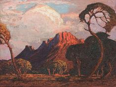 Buy online, view images and see past prices for Jacob Hendrik PIERNEEF South African An. Invaluable is the world's largest marketplace for art, antiques, and collectibles. Landscape Art, Landscape Paintings, African Paintings, Bonsai Art, South African Artists, Art And Craft Design, Witch Art, Traditional Paintings, Naive Art