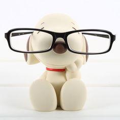 Disney Snoopy Eye Glasses Sunglasses Stand Statue Vintage Brown   eBay