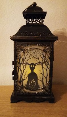 The Mondo record release of the Over the Garden Wall soundtrack had a really cool version of the Beast's lantern on the cover that showed Wirt and Greg walking through the woods and it was such a neat...