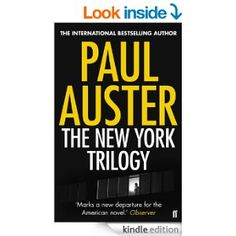 """The New York Trilogy: """"City of Glass"""", """"Ghosts"""" and """"Locked Room"""" eBook: Paul Auster: Amazon.co.uk: Kindle Store #Currentreading"""