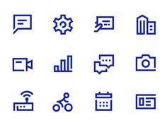 New icon set project for one of the biggest bank in the SEA. Will announce more…