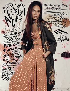 Joan Smalls, Tali Lennox Are Boho Babes in Free People's February Catalog Read more: http://www.fashiongonerogue.com/free-people-february-2016-catalog/#ixzz3z2s7Wleg