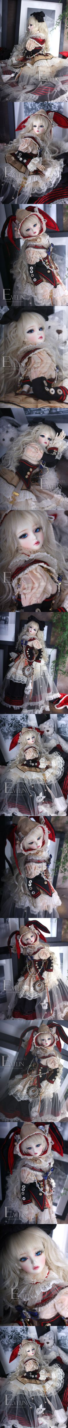 Evelin 43cm, Soul Doll - BJD Dolls, Accessories - Alice's Collections