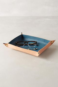 Leather Tray - anthropologie.com                                                                                                                                                                                 More