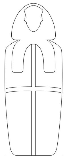 egypt coloring page Ancient Egypt Crafts, Egyptian Crafts, Egyptian Party, Egyptian Mummies, Coloring Book Pages, Ancient Civilizations, School Projects, Ancient History, Art Lessons
