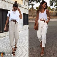 Chic Outfits, Trendy Outfits, Summer Outfits, Fashion Outfits, Looks Style, Casual Looks, Spring Summer Fashion, Autumn Fashion, Facon