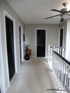 My Style Dark Floors Dark Doors White Trim Home Decorating And Remodeling Pinterest