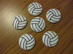 volleyball cookies - Google Search