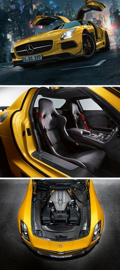 2012 marked the premiere of the Mercedes-Benz SLS AMG Coupé Black Series which was the first vehicle to be developed completely in-house by Mercedes-AMG. In order to develop a vehicle worthy of this honor - no expense was spared.