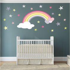 Magical Nursery Rainbow Wall Sticker