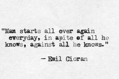 Emil #Cioran, #philosophy
