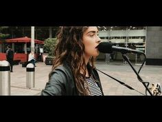 Natasha Jenkins - I Can't Help Falling in Love with You (Cover/Busking in the Street)