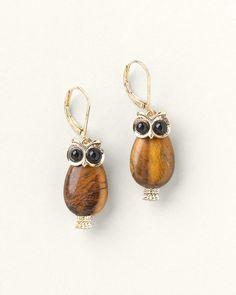 Owl Earrings  #ColdwaterCreek